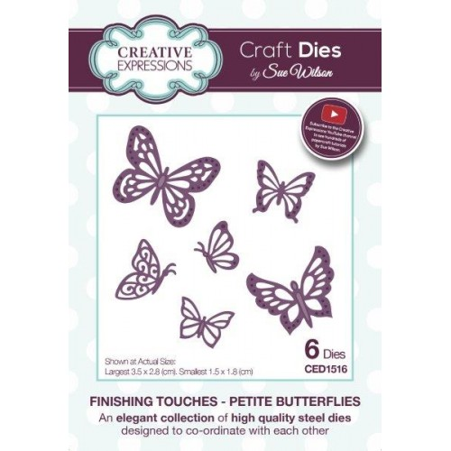 Petite Butterflies - Finishing Touches  Die Collection